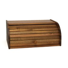 Acacia Roll Top Bread Box