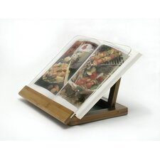 Bamboo / Acrylic Cook Book Holder