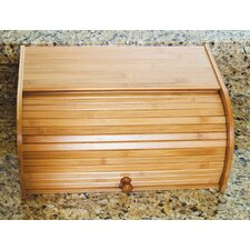 <strong>Lipper International</strong> Bamboo Roll Top Bread Box