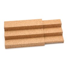 Cork Expandable Triple Step Spice Shelf Cork