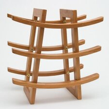 <strong>Lipper International</strong> 9 Bottle Wine Rack