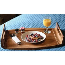 <strong>Lipper International</strong> Acacia Serveware Reversible Serving Tray