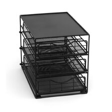 <strong>Lipper International</strong> 3 Tier Cabinet Coffee Drawer