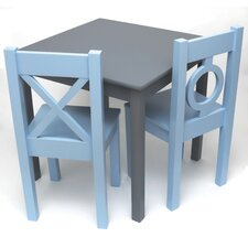 <strong>Lipper International</strong> Kid's Table and Chair Set