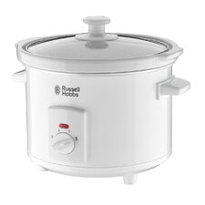 2.5L Slow Cooker in White