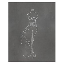 Dress Form Art Print