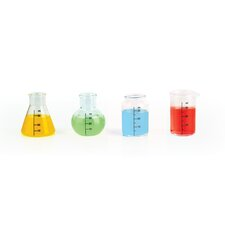 Mixology 4 Piece Chemical Shot Glass Set (Set of 4)