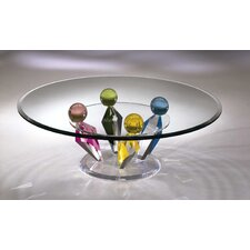 Crown Acrylic Coffee Table Base