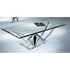 Diamond Cut Coffee Table Base