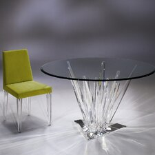 Crystals Acrylic  Dinette Dining Table