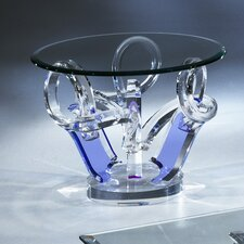 Pulpo Acrylic End Table Base