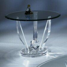 Acrylic Oval End Table Base