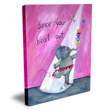 Words of Wisdom Dance Your Heart Out Canvas Art