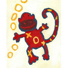<strong>CiCi Art Factory</strong> Paper Prints X & O Monkey Canvas Print