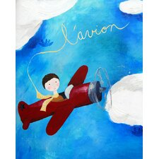 <strong>CiCi Art Factory</strong> Paper Prints L'avion