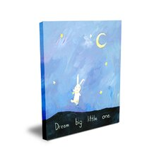 <strong>CiCi Art Factory</strong> Words of Wisdom Dream Big Little One Canvas Art