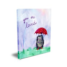 Words of Wisdom You are Loved Canvas Art