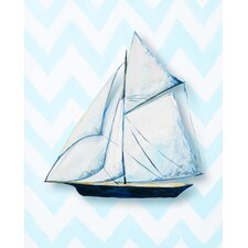 <strong>CiCi Art Factory</strong> Nautical Ship Paper Print Art
