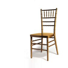 Armless Chiavari Stacking Chair with Optional Cushion