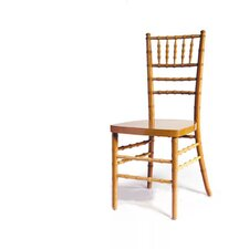 <strong>Advanced Seating</strong> Chiavari Chair in Natural with Optional Cushion