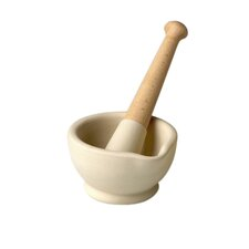 "<strong>Wade Ceramics</strong> Milton Brook 4"" Mortar and Pestle"