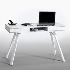 Computer-Schreibtisch mit Ablagefach, Kabeldurchlass und Schubladen