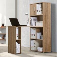 Bürokombination mit 1 Regal und 1 Tür