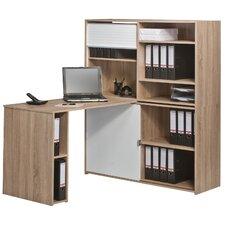 Bürokombination mit 1 Rollo und 1 Schiebetür