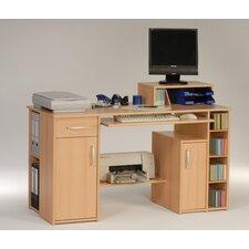 91,5cm Computertisch in Buche