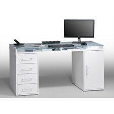 Schreibtisch mit 4 Schubladen und 1 Tür