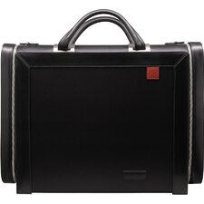 Microfiber Nylon Business Cases Large Computer Bag in Black
