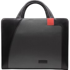 Microfiber Nylon Business Cases Single Zip Briefcase