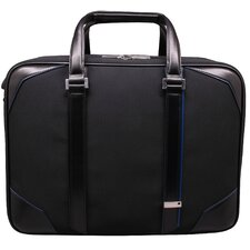 Textured Dual Laptop Briefcase