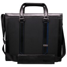 Textured Square Laptop Briefcase