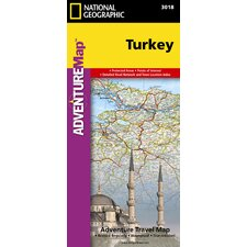 Turkey Adventure Map
