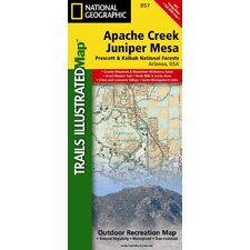 Trails Illustrated Map Apache Creek & Juniper Mesa Wilderness Areas, Prescott & Kaibab National Forests