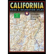 Benchmark California Road & Recreation Atlas, 7th Edition