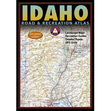 Benchmark Idaho Road & Recreation Atlas, 3rd Edition