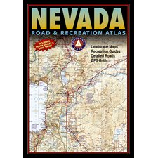 Benchmark Nevada Road & Recreation Atlas, 3rd Edition