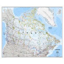 Canada Classic Wall Map