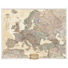 Europe Executive Mural Map