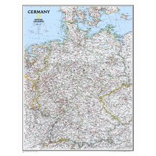 Germany Classic Wall Map