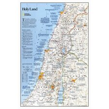 Holy Land Wall Map