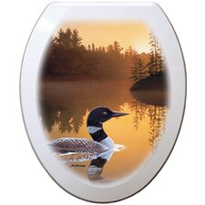 Signature Artist Series Elongated Toilet Seat