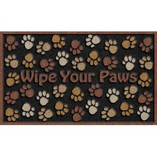 CleanScrape Deluxe Wipe Paws Mat