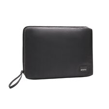 Classic Canvas Laptop Sleeve in Black