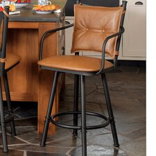 Creation I Swivel Bar Stool with Cushion