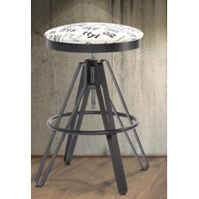 "The Screw 30"" Bar Stool with Cushion"