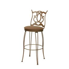 "<strong>Trica</strong> Deco 30"" Bar Stool with Cushion"