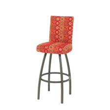 Nicholas Swivel Bar Stool with Cushion